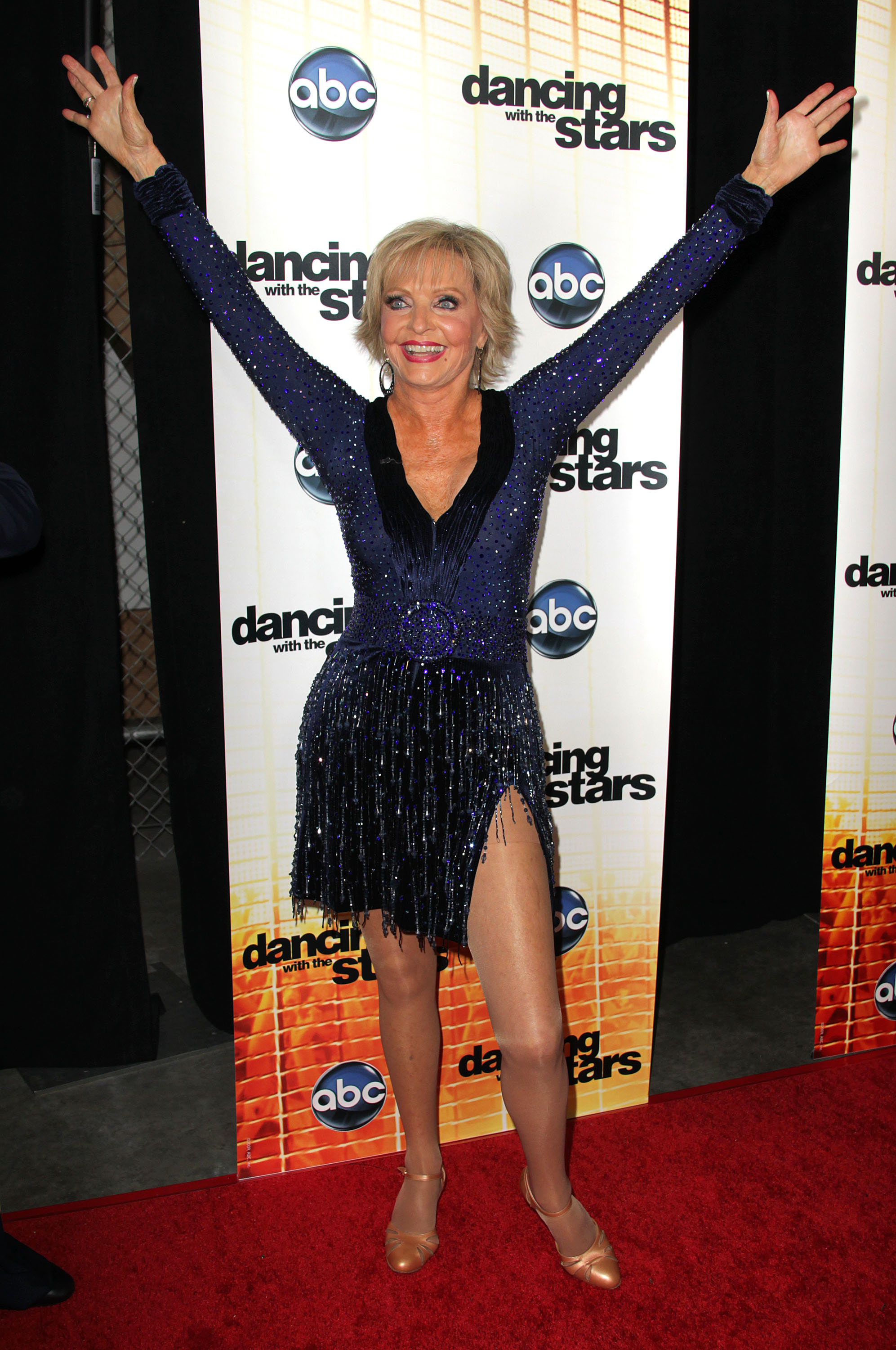 Florence Henderson Dedicates DWTS Performance to Late TV Hubby