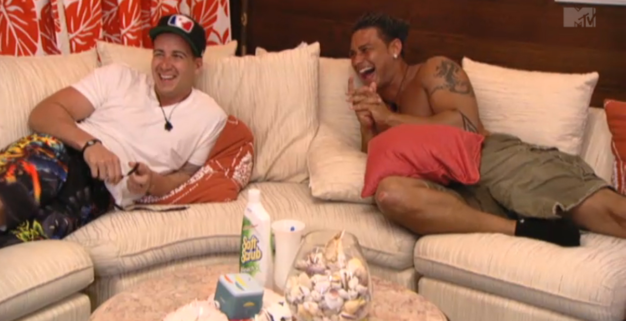 Top 5 Bromantic Moments of Jersey Shore, Episode 2.10