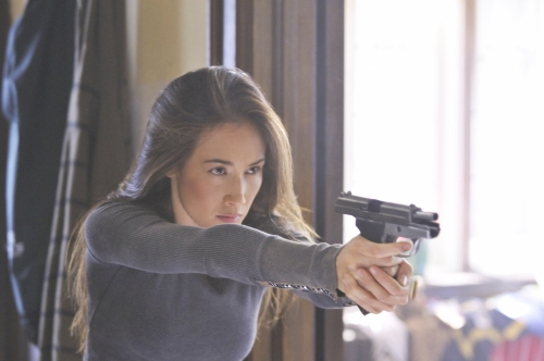 Maggie Q Talks About Beating Up Bruce Willis, Playing a Female Action Hero