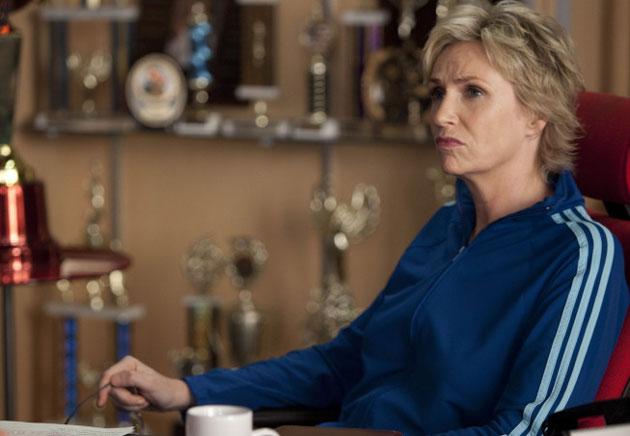Jane Lynch Teases Epic Sue Tantrum in Glee's Super Bowl Episode