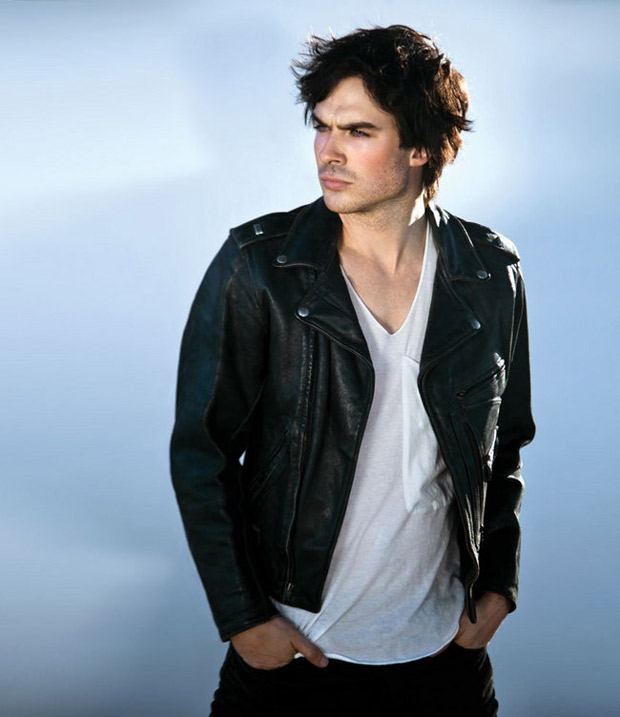 Ian Somerhalder Gets Hot and Hungry in Vegas