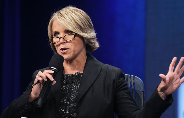 Katie Couric to Show Off Her Dancing Skills on Glee