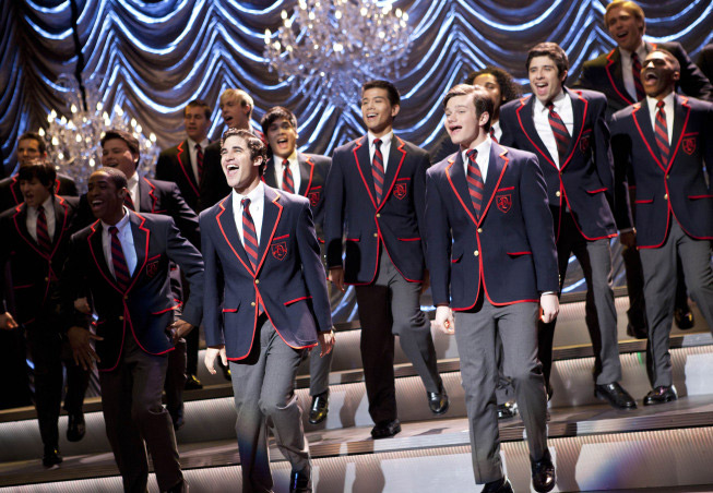 When Will Kurt and Blaine Kiss on Glee? Chris Colfer Responds