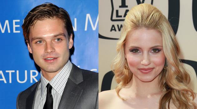 Dianna Agron Dating Gossip Girl Star Sebastian Stan?