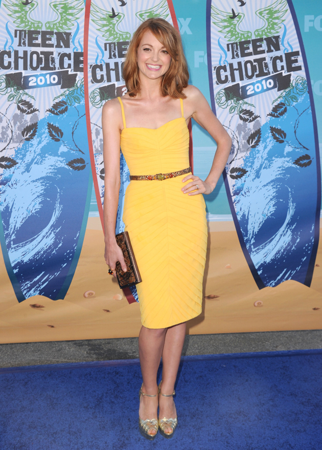 Anatomy of an Outfit: Jayma Mays' Crayola Color