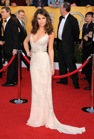 Glee-ful Fashion Highlights From the 17th Annual SAG Awards