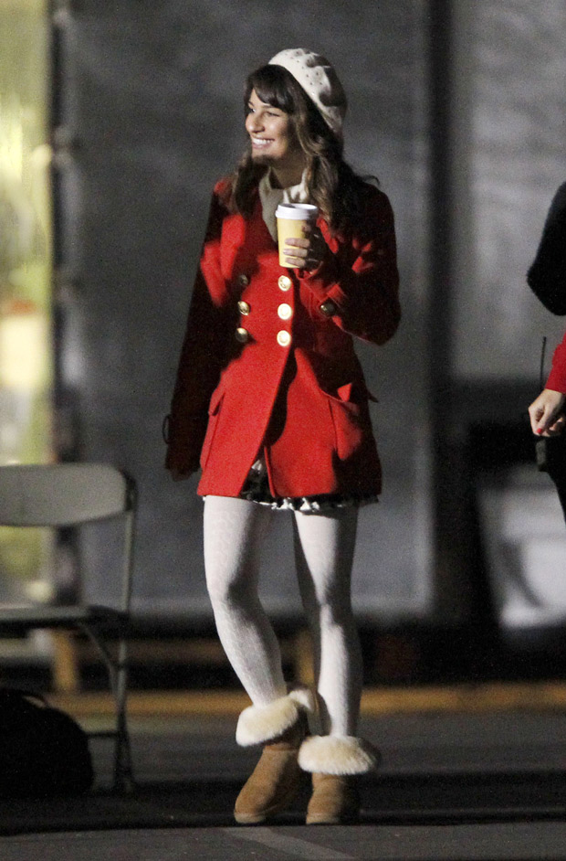 Anatomy of an Outfit: Rachel Berry Bundles Up