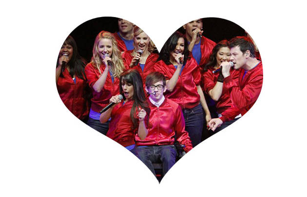 Which Glee Characters Will Have a Sleepover on Valentine's Day?