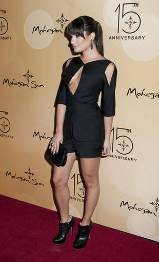 Hot or Not: Lea Michele's Peep Show