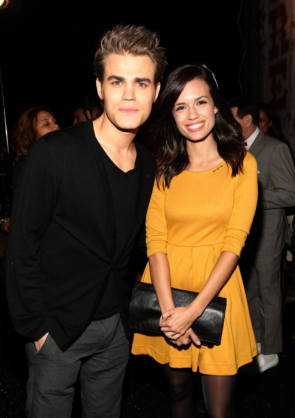 """The Vampire Diaries' Paul Wesley on Wife Torrey DeVitto: """"Somehow a Girl Liked Me for Longer Than a Month"""""""