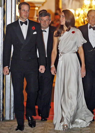 Kate Middleton's Sweeping Jenny Packham Gown: Hot or Not?