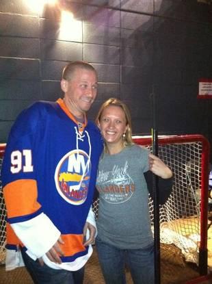 JP Rosenbaum and Ashley Hebert's Hockey Date — Cute Pic of the Day!