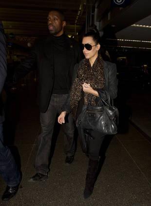 Kim Kardashian Is Already Back at Work, Filming Tyler Perry's New Movie in Atlanta!