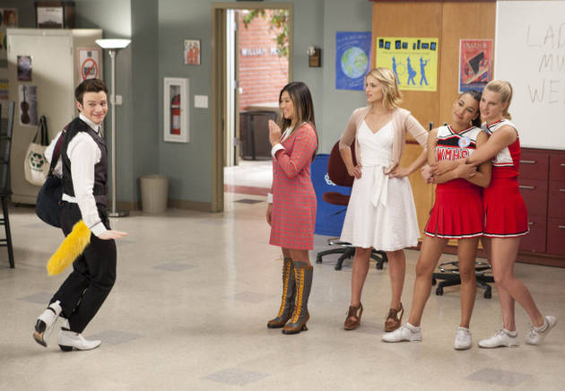 """Glee Season 3 Song Spoilers! Listen to Music From Episode 7, """"I Kissed a Girl"""""""