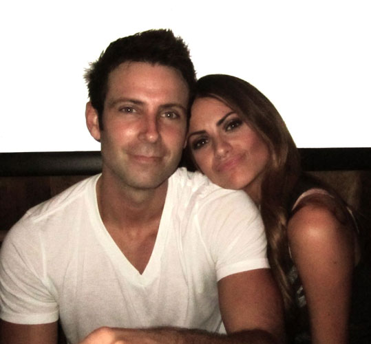 Michelle Money and Graham Bunn Snuggle Up — Cute Pic of the Day!
