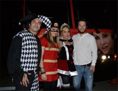 Cute Pic of the Day: Adrienne Maloof Goes Trick-or-Treating with Mark Wahlberg