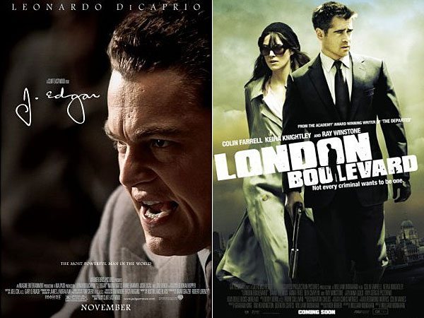 J. Edgar, Jack and Jill, London Boulevard: Wetpaint Entertainment's Sexy-Not Sexy Weekend Movie Guide, 11/11