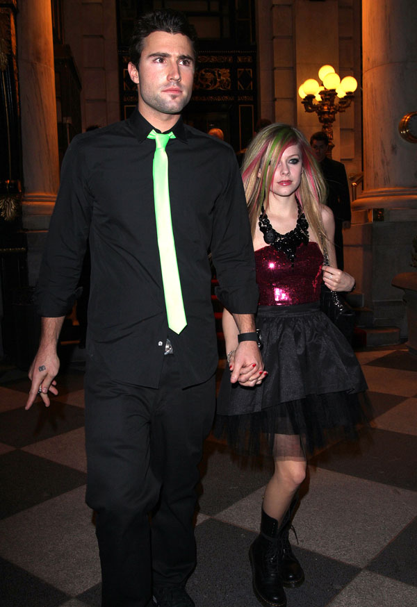 Brody Jenner and Avril Lavigne Beaten Outside of Roosevelt Hotel!