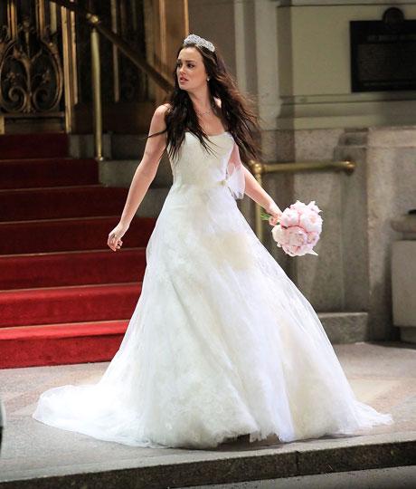 Gossip Girl Fashion: The Royal Wedding Dress Revealed! Details on Blair Waldorf's Stunning Vera Wang Gown