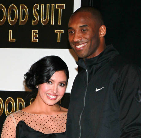 Kobe Bryant and Wife Vanessa: Putting on a Brave Face for the Kids?
