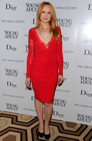 Gossip Girl Fashion: Kaylee DeFer's Red-Hot Holiday Style — For Less!
