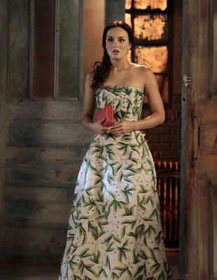Gossip Girl Fashion: Fear Not the Foliage! Go Novelty Chic Like Blair Waldorf