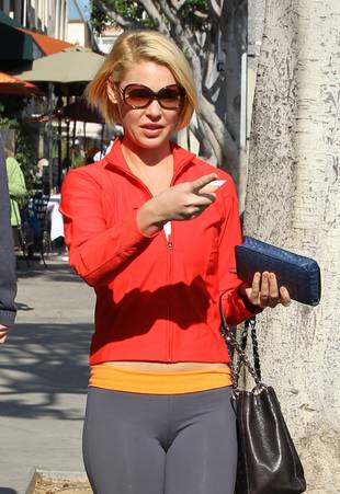 Hot or Not: Katherine Heigl's Super Bright Lunch Outfit