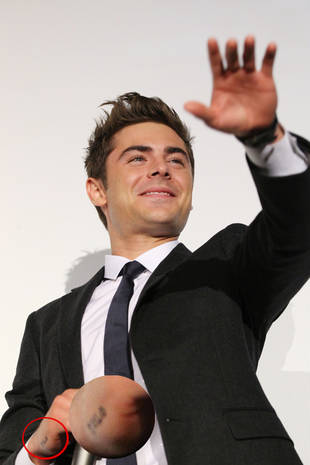 What Does Zac Efron's New Tattoo Mean?