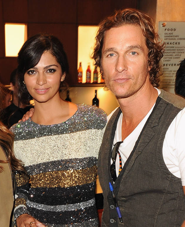Matthew McConaughey and Camila Alves Are Engaged