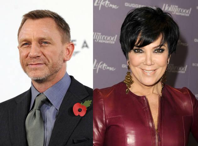 Kris Jenner Vs. Daniel Craig: Who Has the Stronger Career?