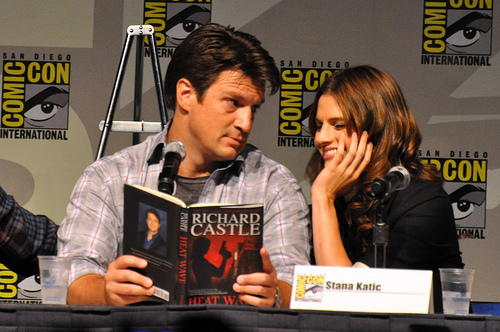 Richard Castle's Book Dedications