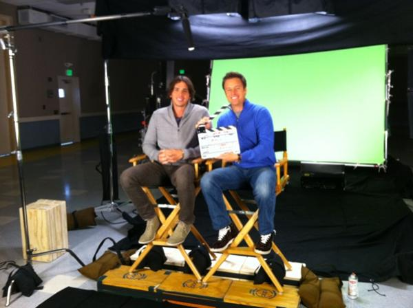 Bachelor Ben Flajnik and Chris Harrison Film Bachelor Promos — Cute Pic of the Day!