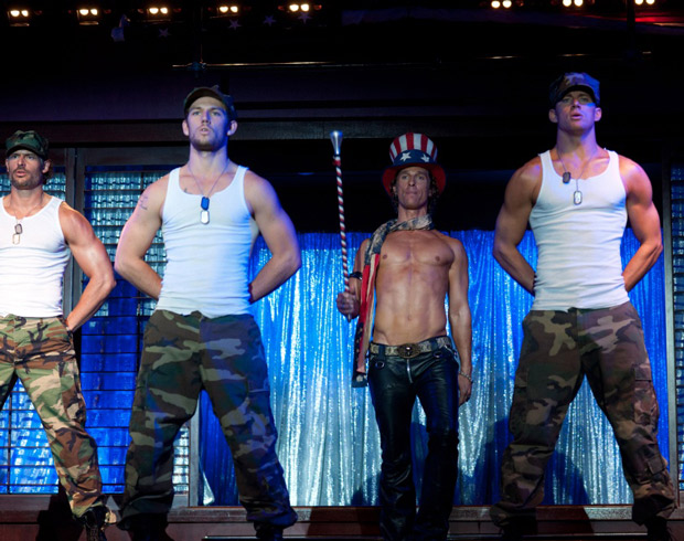 First Look! Joe Manganiello Takes the Stripper Stage in Magic Mike