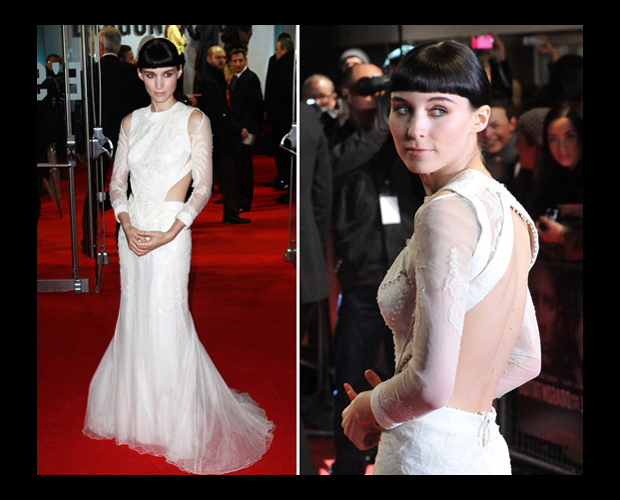 "Rooney Mara Hits the ""Dragon Tattoo"" Red Carpet: Which Premiere Look Is Best?"