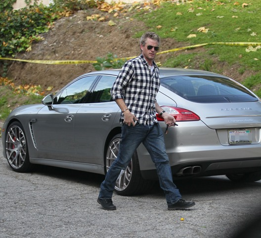 Update: Eric Dane & Pregnant Wife Rebecca Gayheart Are Safe After Storm