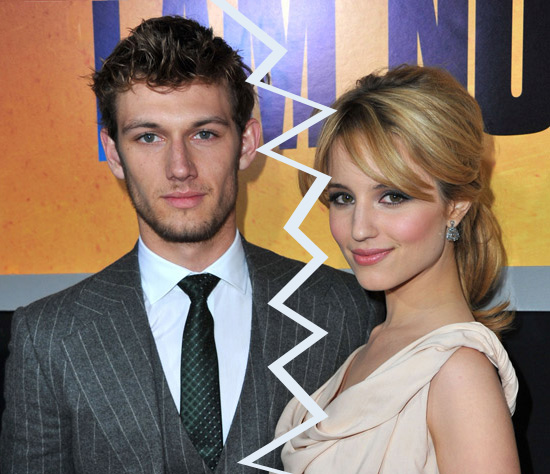 Did Dianna Agron Break up With Alex Pettyfer Over Racy Photo Shoot?