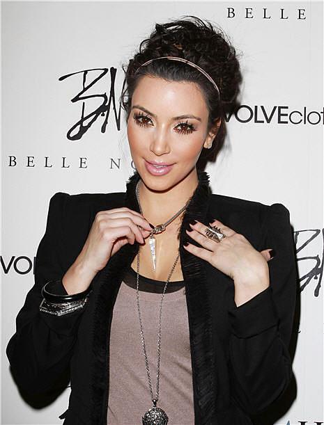 Kim Kardashian Launches Her Belle Noel Jewelry Line