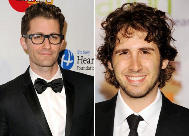 "Josh Groban Wants a ""Hair-Off"" With Matthew Morrison"