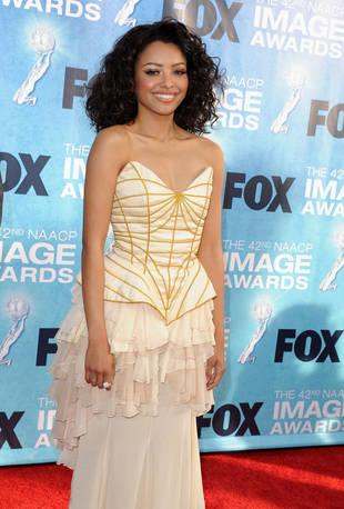 Magic or Misfire? Golden Girl Katerina Graham Arrives at NAACP Image Awards