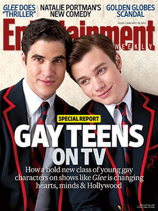 Glee 'Raised the Bar' For TV Inclusiveness With Gay Kiss