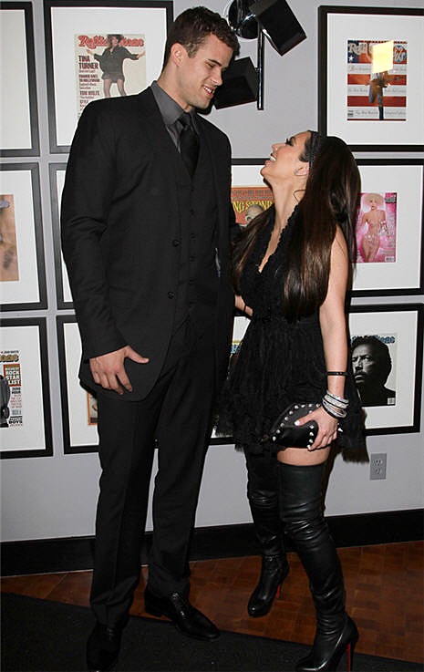 Kim Kardashian and Kris Humphries Poke Fun at Wedding Rumor