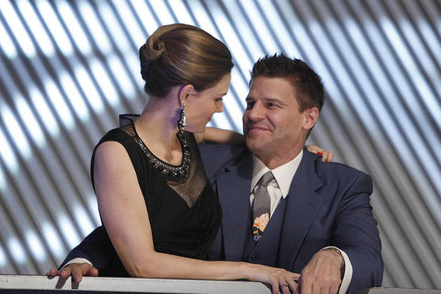 Bones Moment of the Day: Booth and Brennan as Mr. and Mrs.