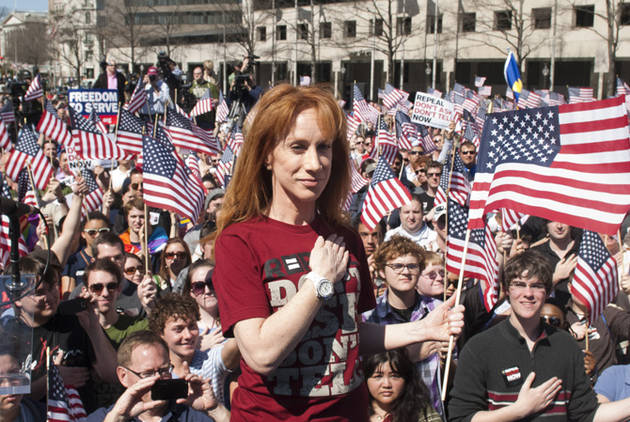 Kathy Griffin Strikes Back at Sarah Palin