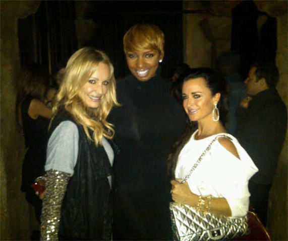Real Housewives Crossover: NeNe Leakes Hangs With Kyle Richards and Taylor Armstrong