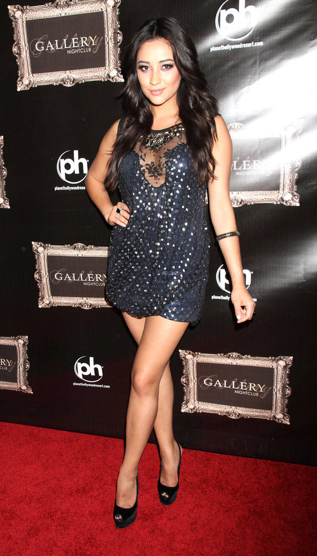 Pretty Little Liars Fashion: Sparkle Like Shay Mitchell in a Sequin Dress