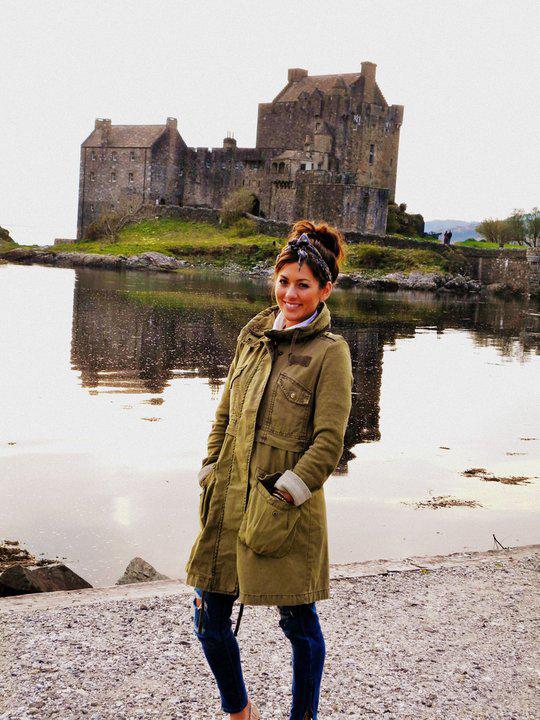 Cute Photo of the Day: Bachelorette Jillian Harris in Scotland!
