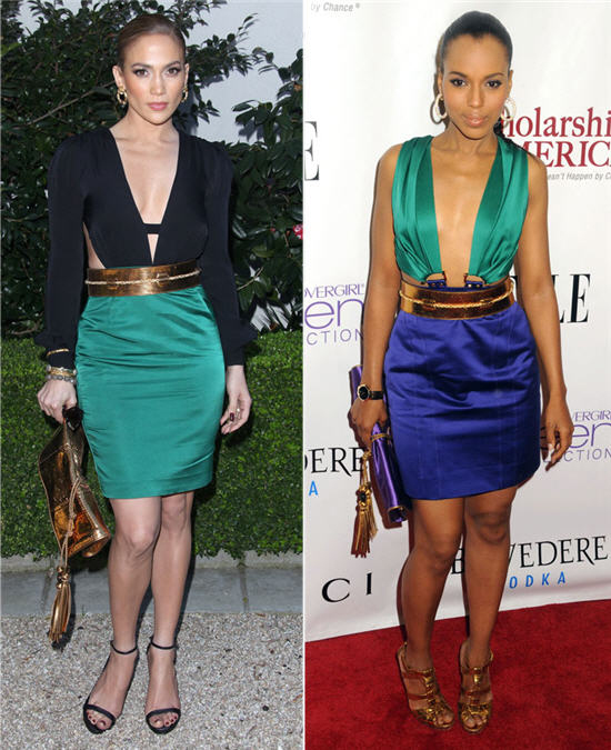 Vote Now! Who Wore It Best: Jennifer Lopez or Kerry Washington?
