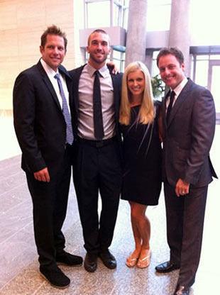 Report: Chris Lambton and Peyton Wright Are Engaged!