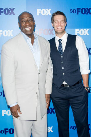 Bromance Alert! The Finder Stars Geoff Stults and Michael Clarke Duncan on Their Great Chemistry