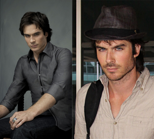 Which Is Hotter: Ian Somerhalder With Scruff or Clean Shaven?